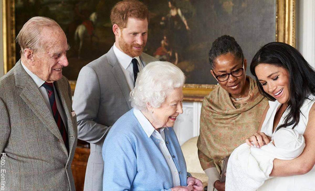 Bebé de Meghan y Harry hace que salten tradiciones de la familia