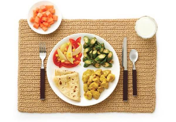 Foto de un plato de comida