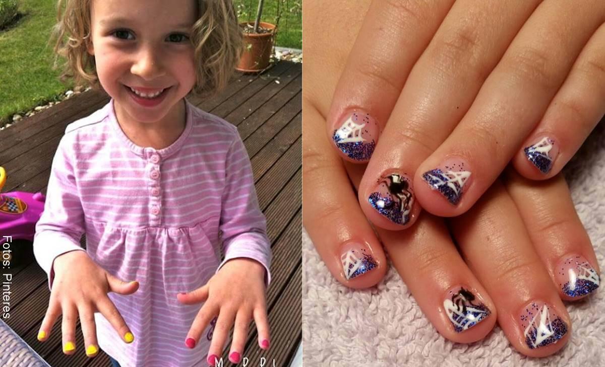 Decoración de uñas para niñas, tiernas y fáciles de hacer