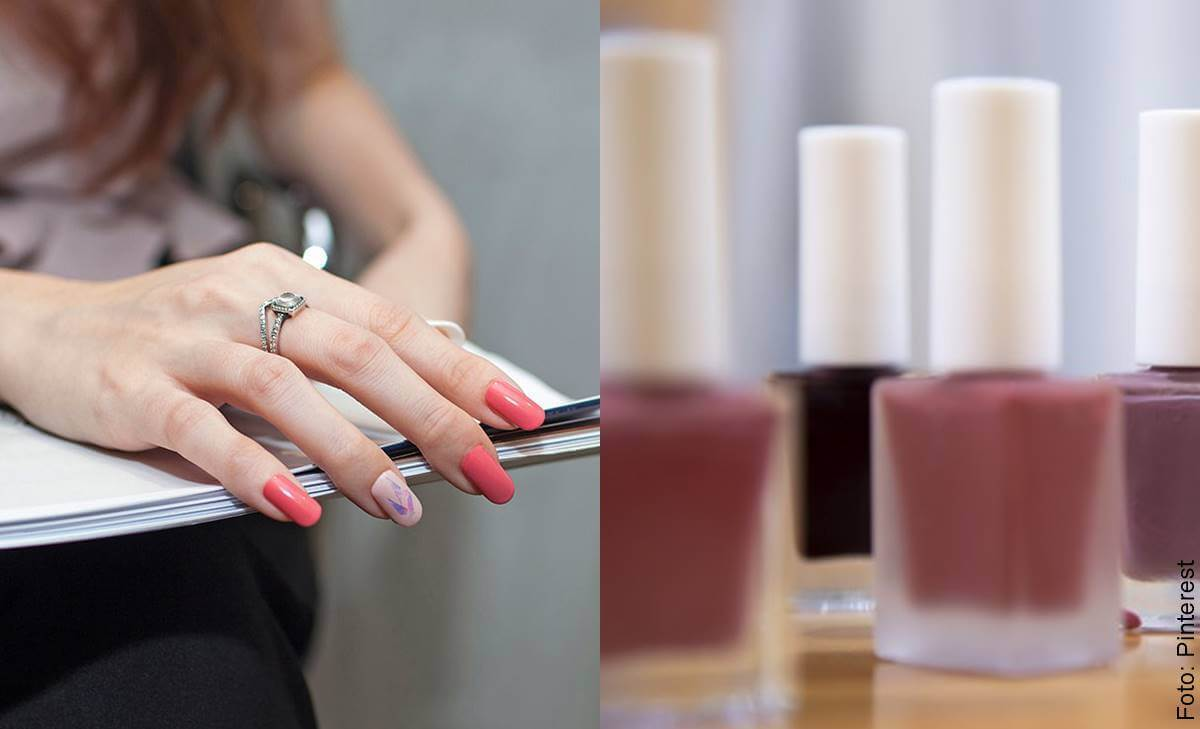 Decoración de uñas para oficina que te encantará