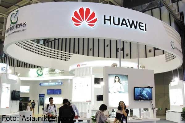 foto oficina de Huawei en China