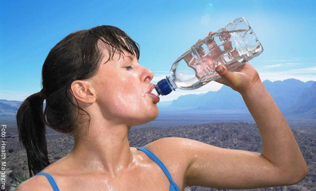 ¿Es malo tomar agua fría después de hacer ejercicio?