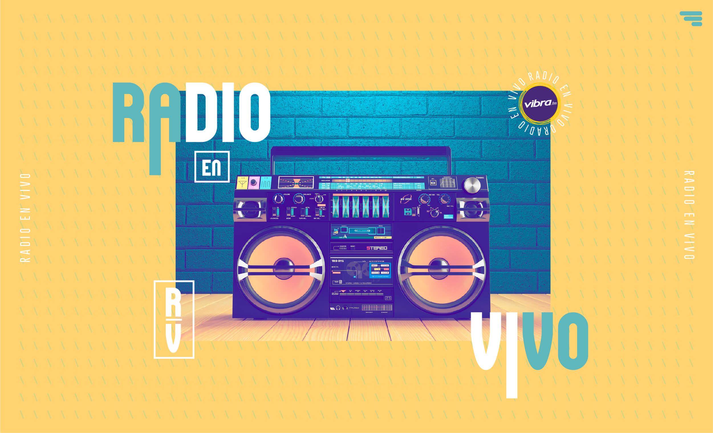Escucha radio en vivo Vibra con la mejor música pop en español