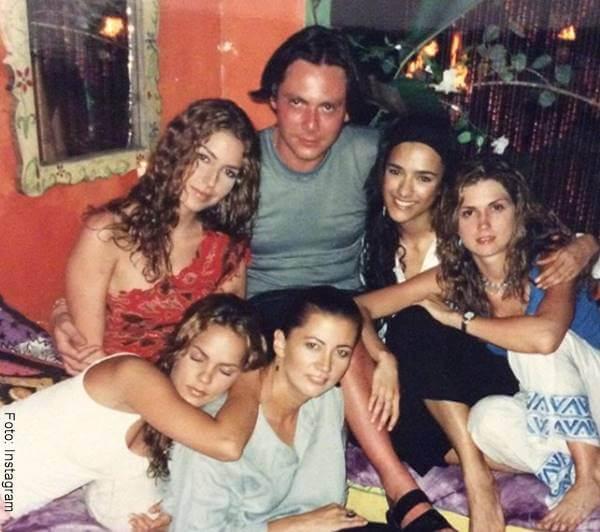 Foto de varias modelos antes de la fama