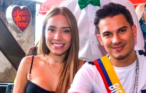 Pipe Bueno y Luisa Fernanda W en Andrés Carne de Res