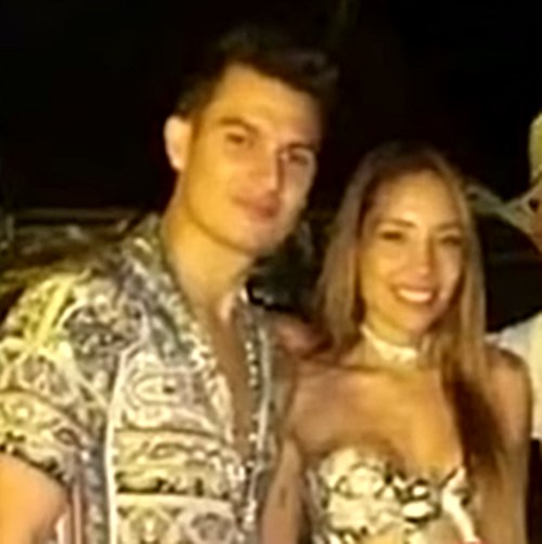 Pipe Bueno y Luisa Fernanda W en el Festival Vallenato