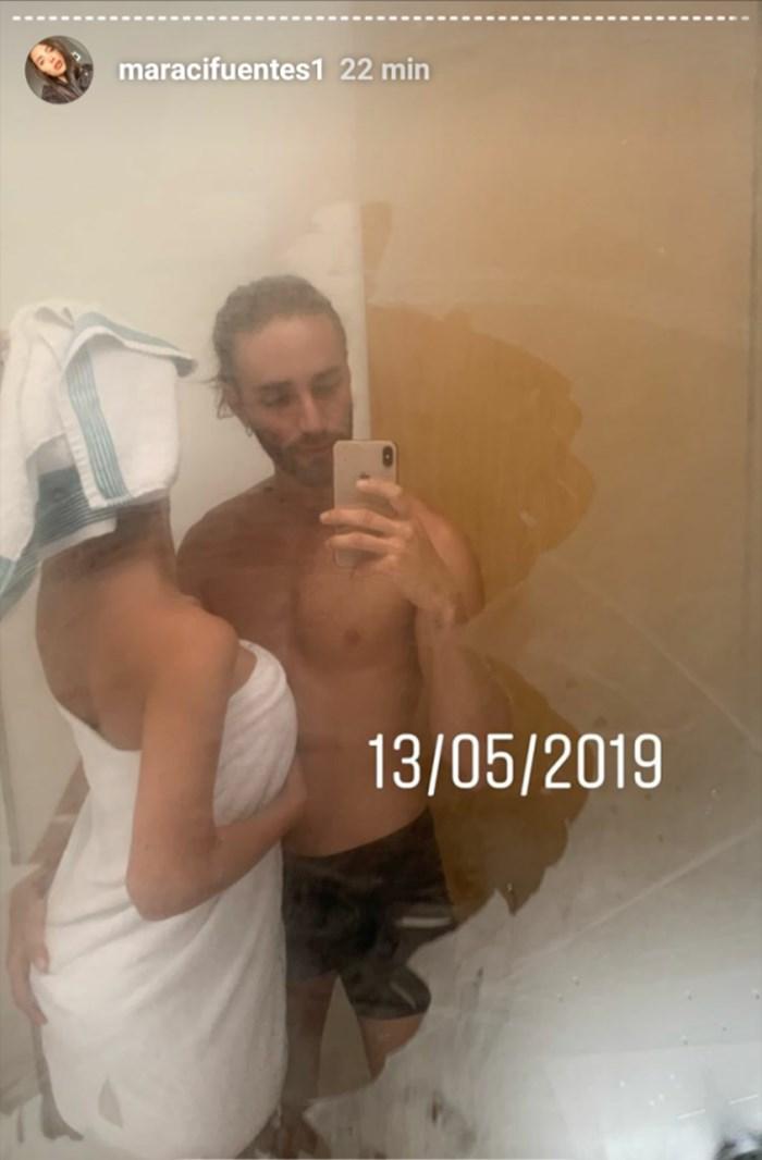 Fotos íntimas de Mara con Nicolás