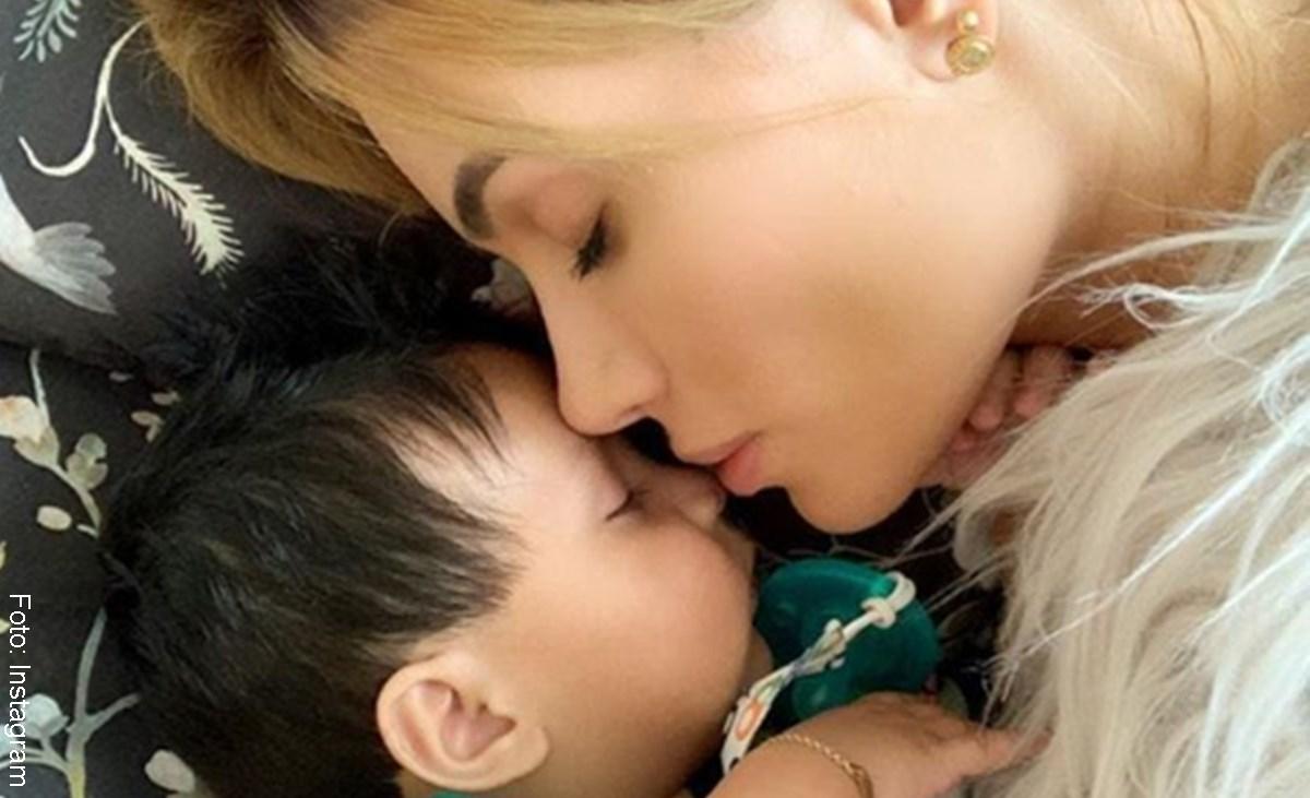 Sara Uribe reveló fotos de su parto ¡que tenía bien escondidas!