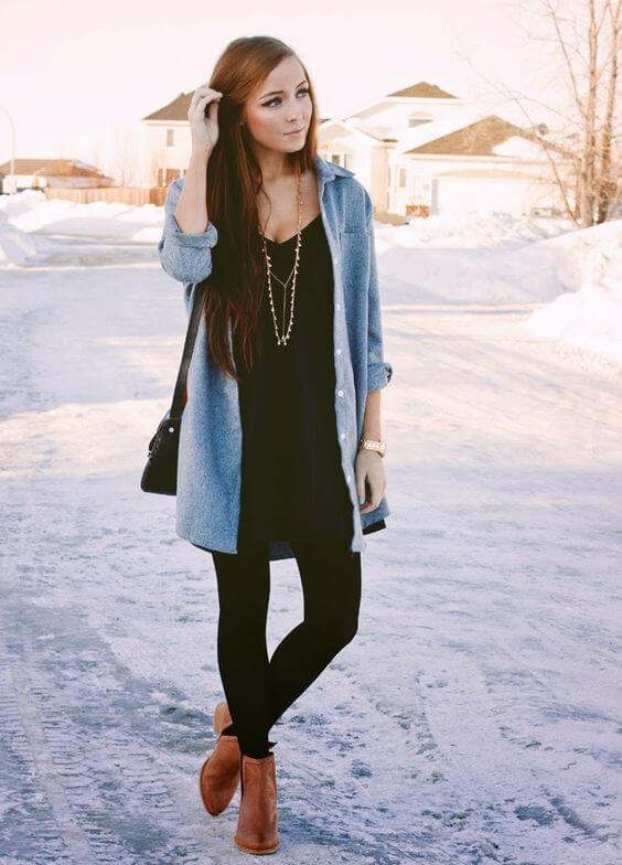 Foto de chica con botines