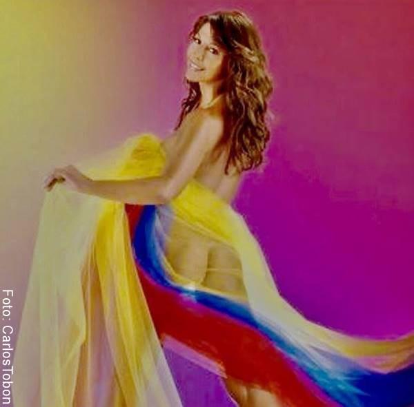 Amparo Grisales se desnuda por la Selección Colombia