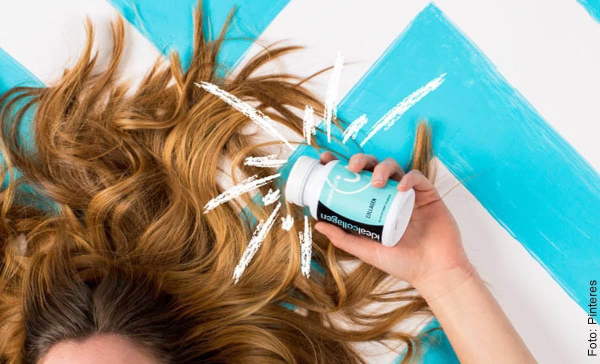 ¿Colágeno para el cabello? Así debes usarlo