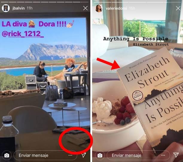 Foto de libro en Instagram