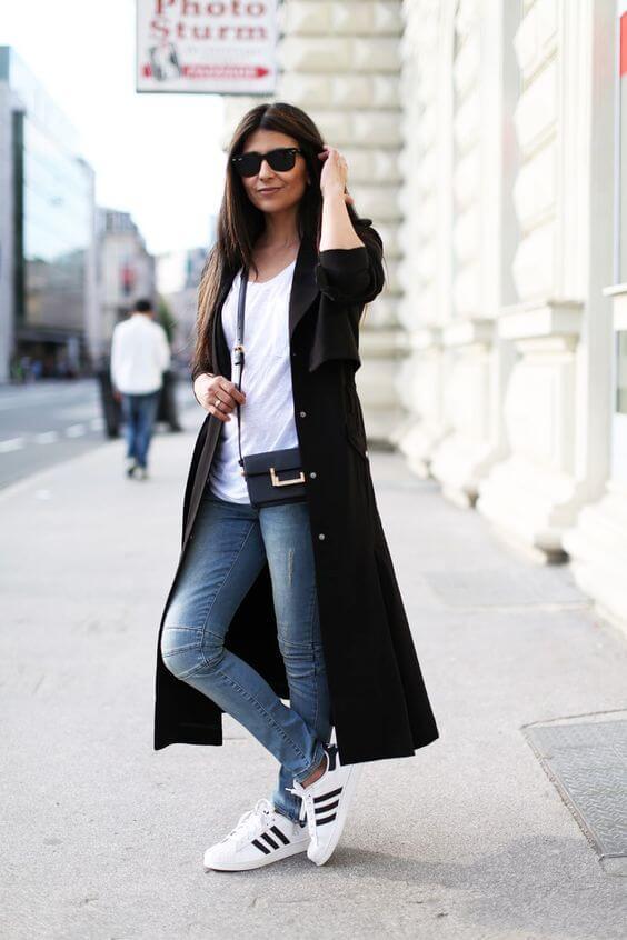 Foto de chica con abrigo