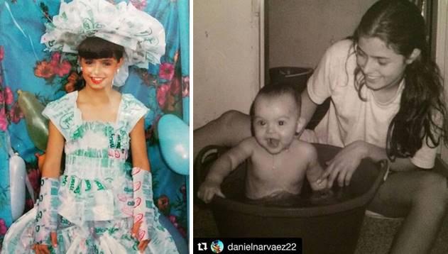Fotos de Cristina Hurtado en Instagram pelinegra