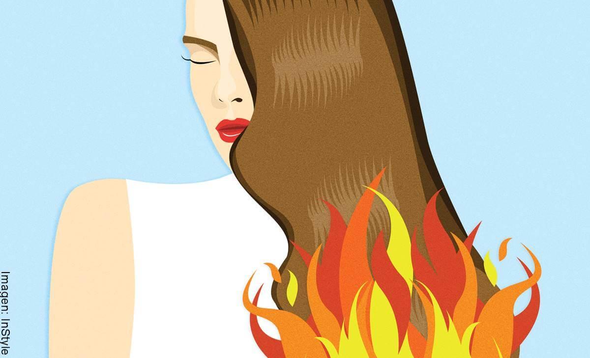 Tratamiento para el cabello quemado