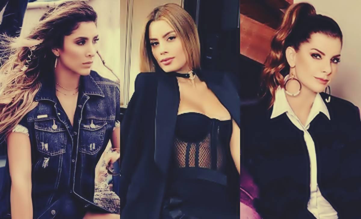Ariadna Gutiérrez, Carolina Cruz y Daniela Ospina en: ¡Guerra de colas!