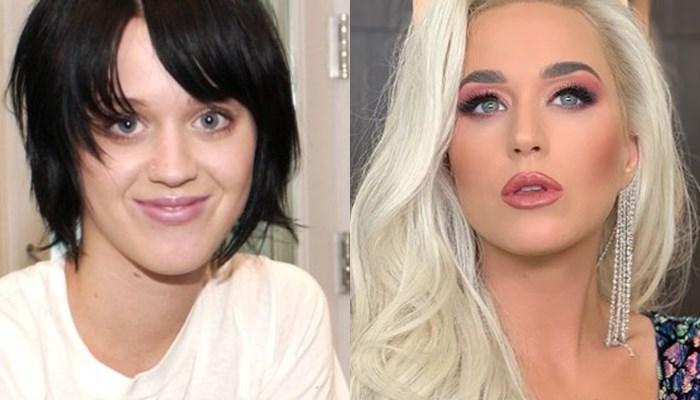 Katy Perry antes y ahora