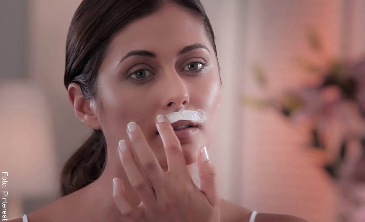 ¿Cómo quitar la mancha del bigote? Con este truco...