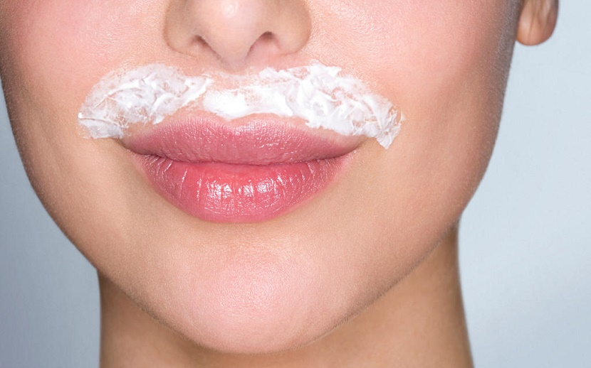 Como quitar la mancha del bigote paso 1 exfolia