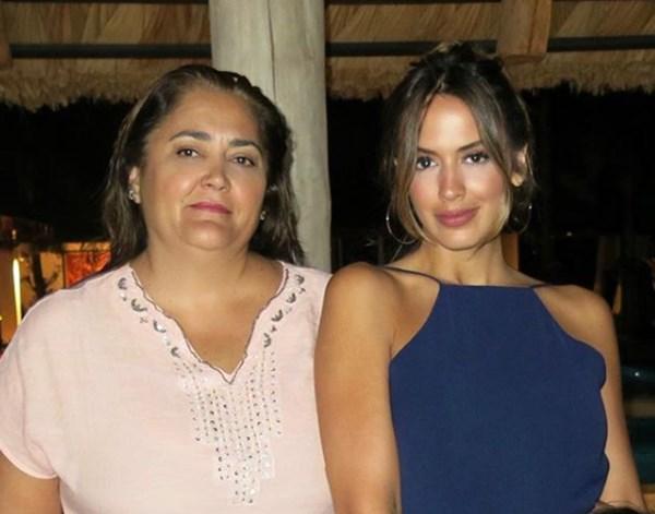 Shannon de Lima y su mamá