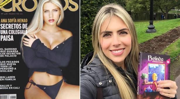 Foto de Ana Sofía Henao Antes y después