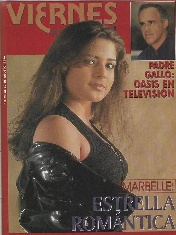 Foto de la primera portada en una revista de esta cantante