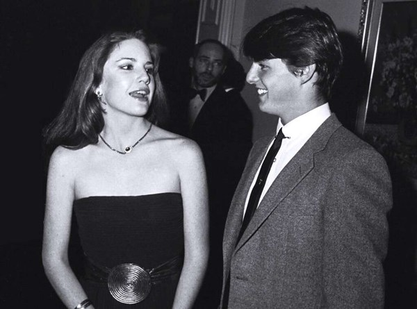 Tom Cruise y Melisa Gilbert