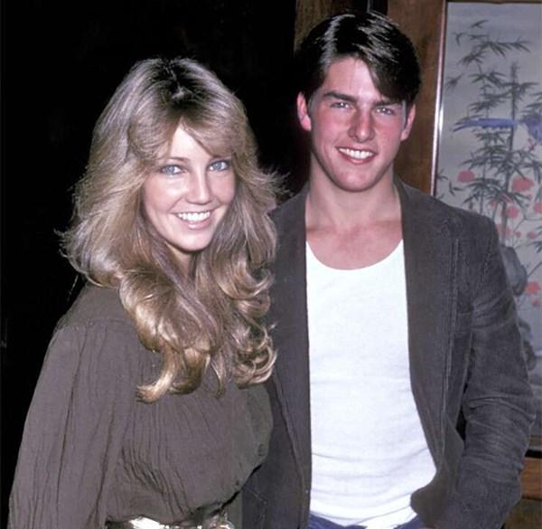 Tom Cruise y Heather Locklear