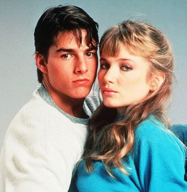Tom Cruise y Rebecca de Mornay