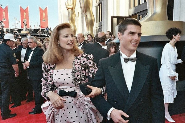 Tom Cruise y Mimi Rogers