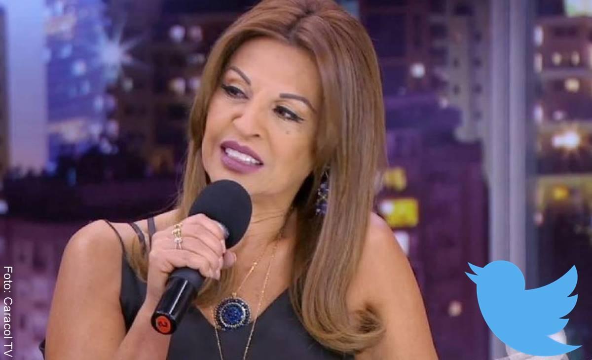 Lo que hizo Amparo Grisales en Twitter dejó callado a más de uno