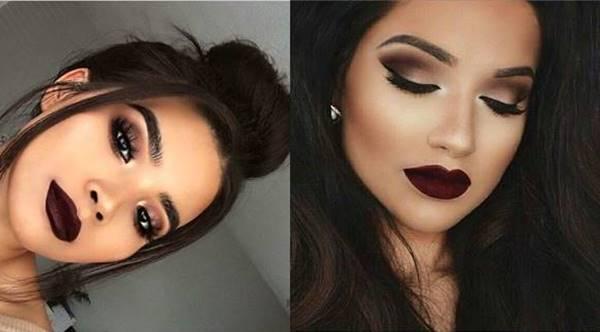 Foto de chicas con maquillaje para la noche