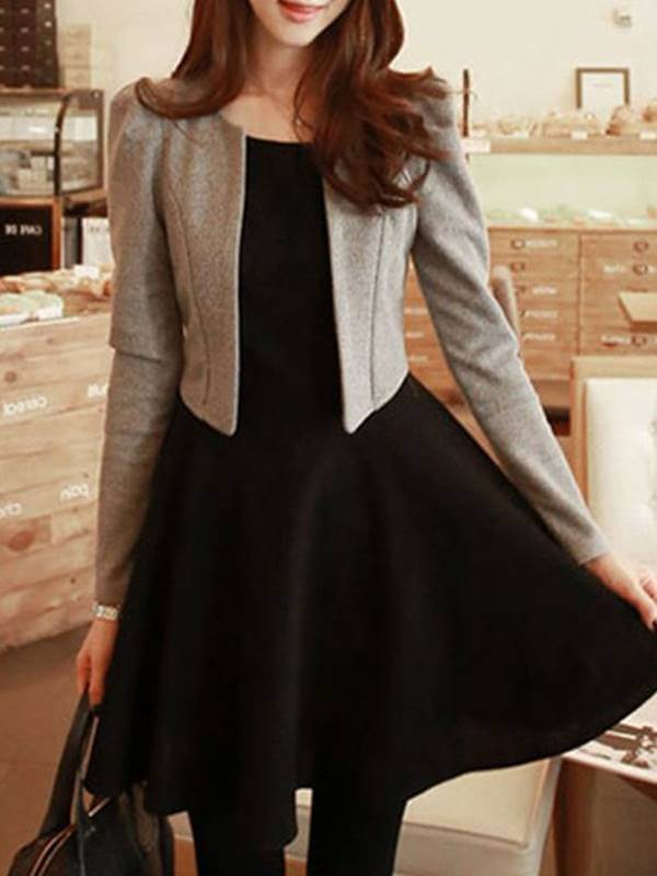 Foto de chica con vestido