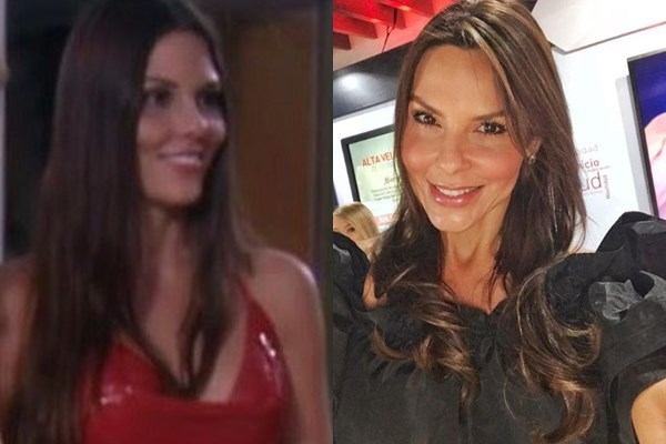 Paula Andrea Betancur antes y ahora