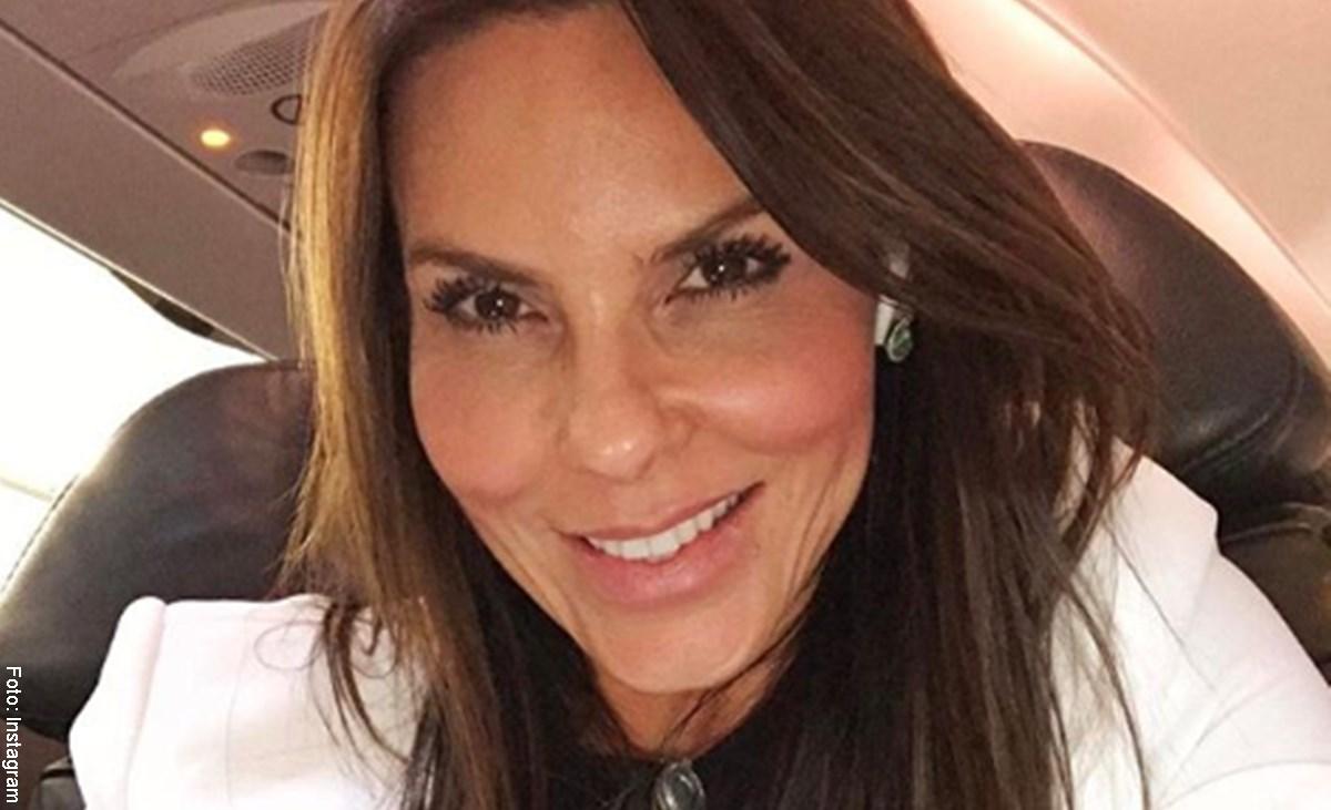 """Paula Andrea Betancur apareció en """"Betty, la fea"""" pero parecía otra"""