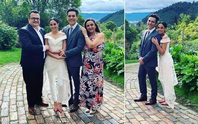 Foto del matrimonio de Ana María Estupiñán