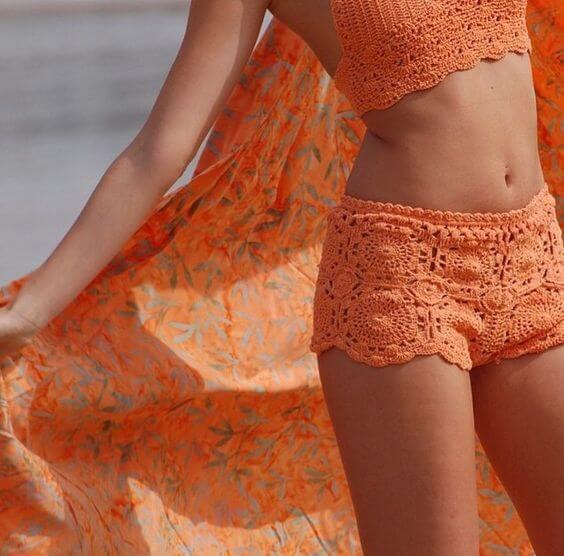 Foto de chica en bikini