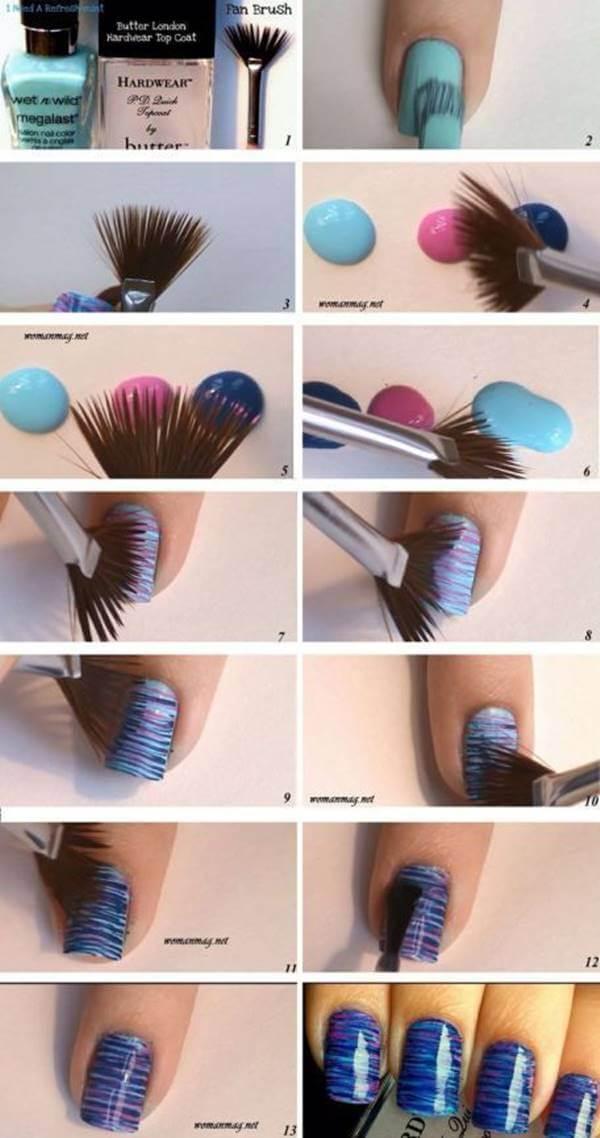 Fotos de diseños de uñas decoradas paso a paso
