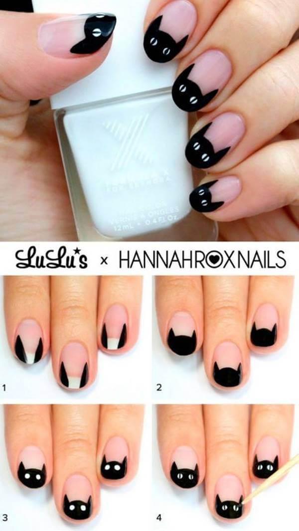 Foto de uno de los 7 diseños de uñas decoradas paso a paso