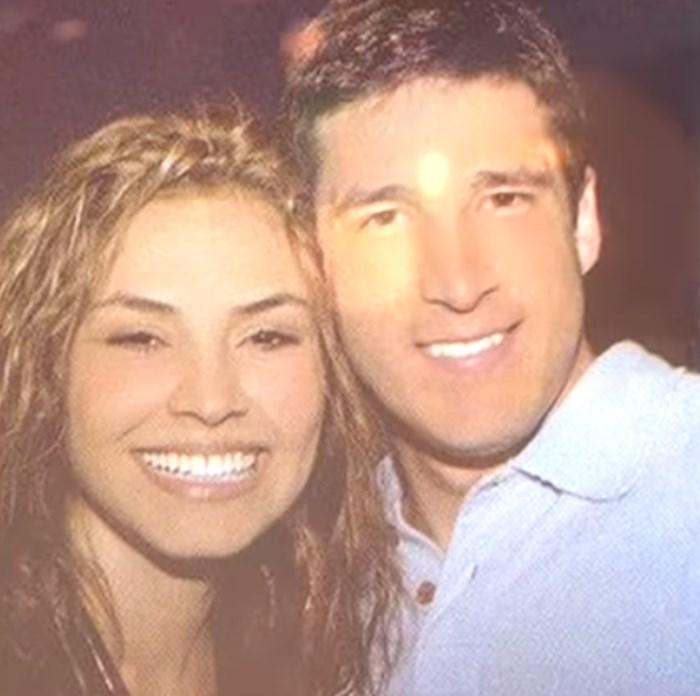 Katherine Porto y Juan Manuel Dávila