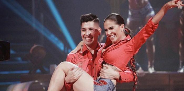 Greeicy Rendón en Mira quien baila
