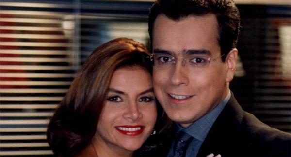 Marcela Valencia y Don Armando