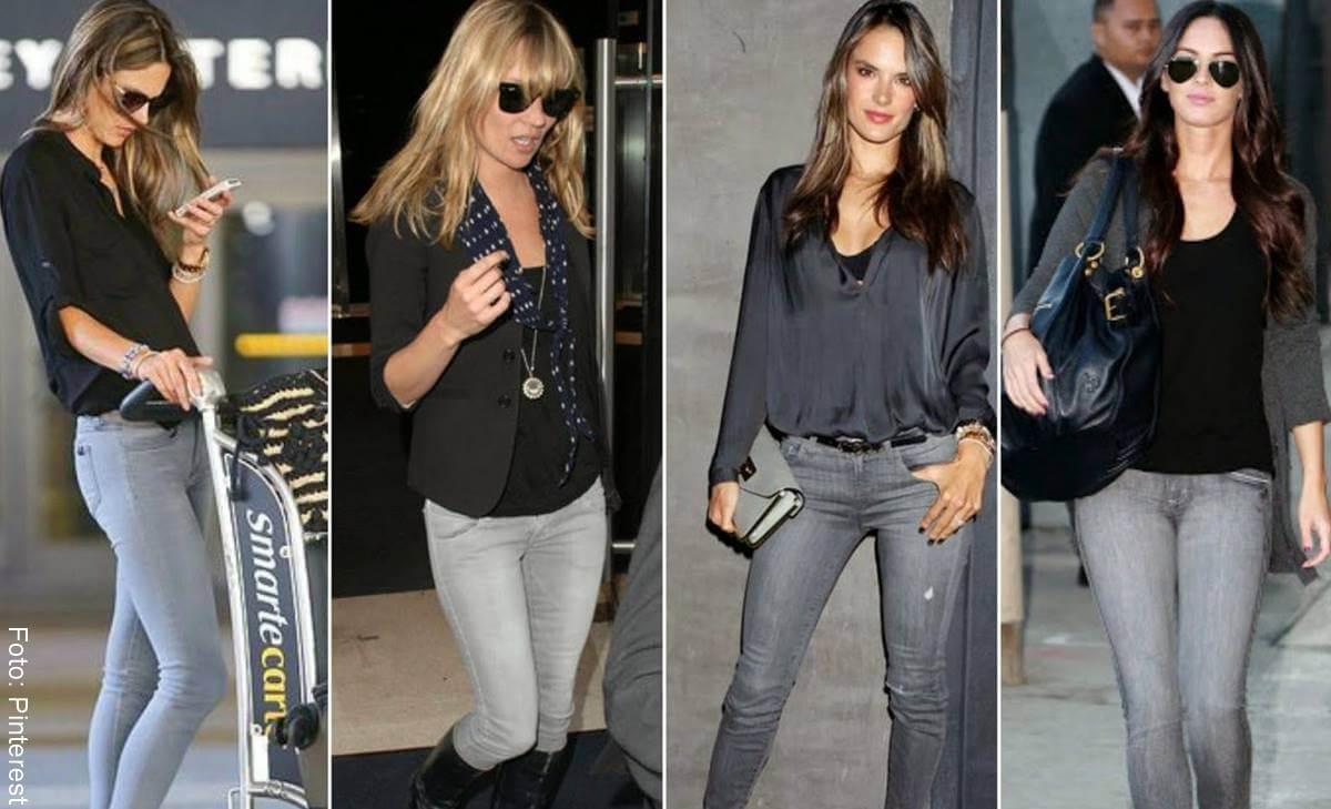 Combina Asi Los Jeans Gris Para Mujer Y Luce Divina Vibra