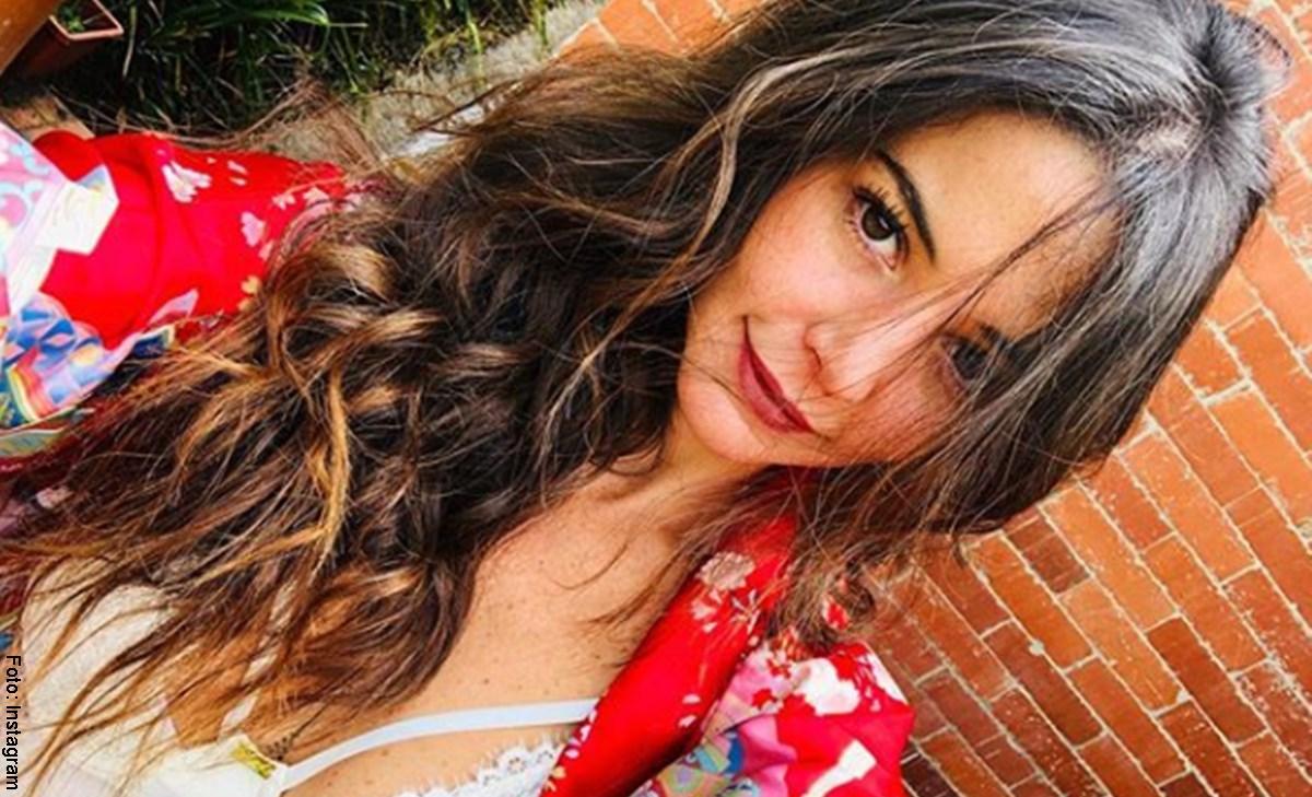 Foto de Maleja Restrepo sin maquillaje que sorprendió en redes