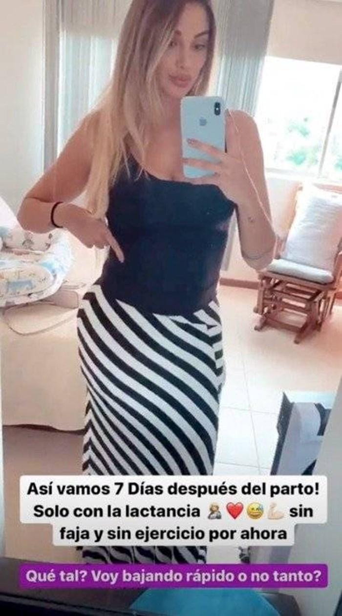 Melina Ramírez bajar de peso