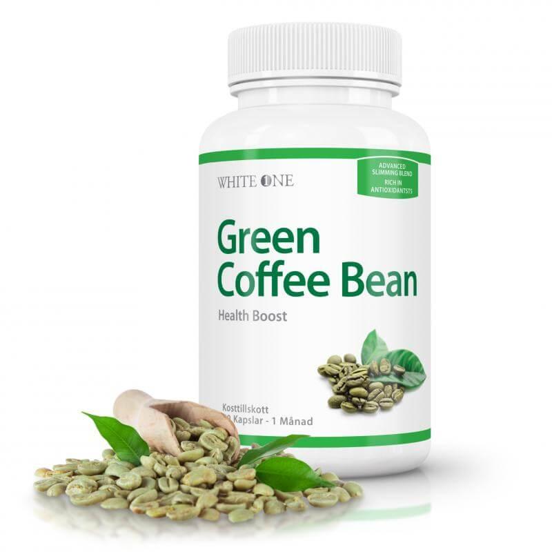 Foto de píldoras de café verde