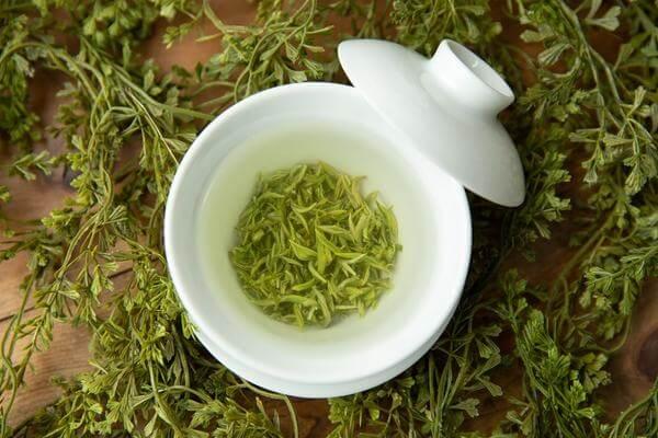 Foto de té verde