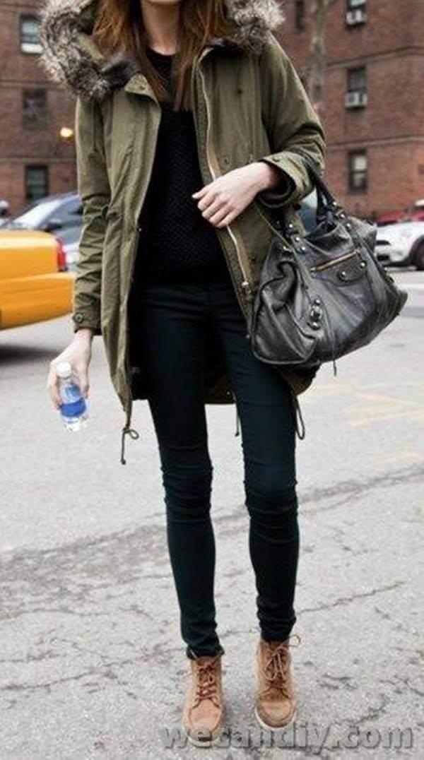 Foto de chica con este outfit