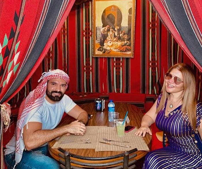 Diva Jessurum y Rafael de vacaciones