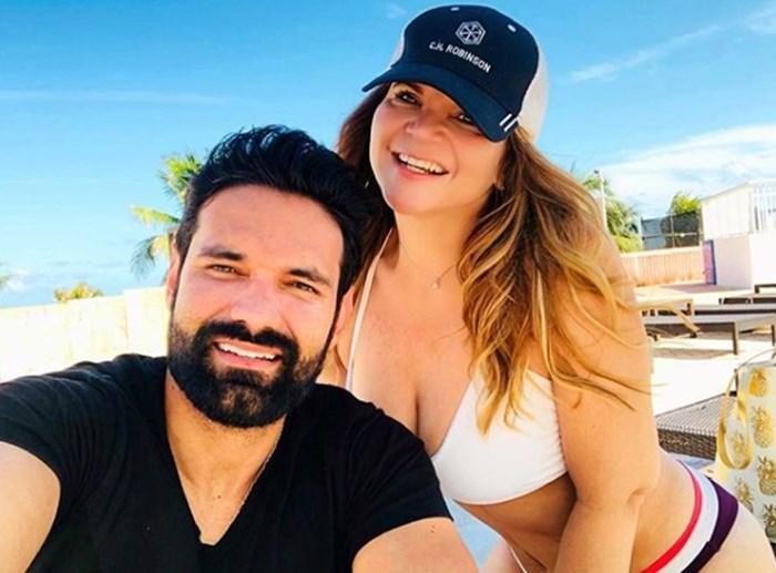 Diva Jessurum y Rafael Caparroso viajando